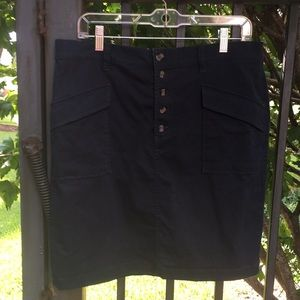 Navy blue Loft Outlet skirt 12P
